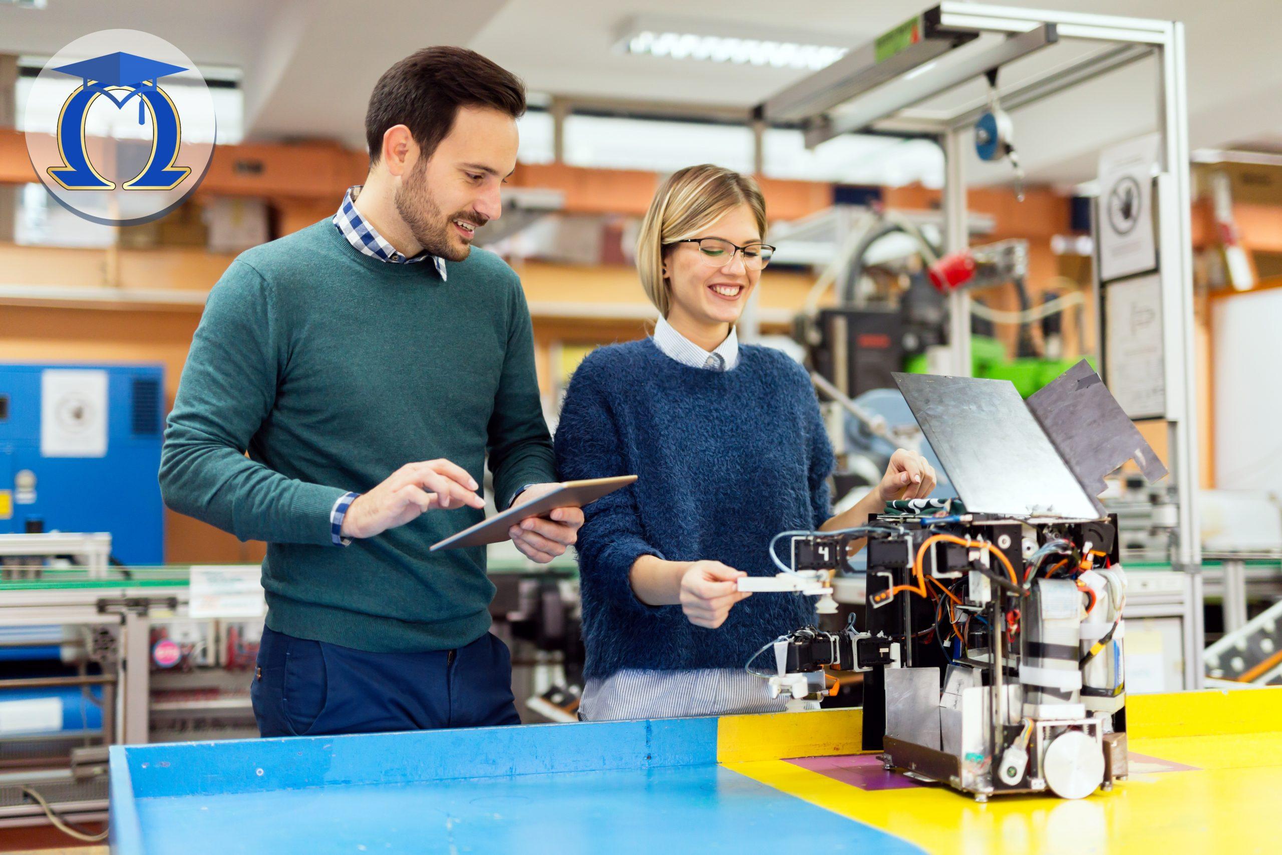 Колежани в лаборатория по изкуствен интелект