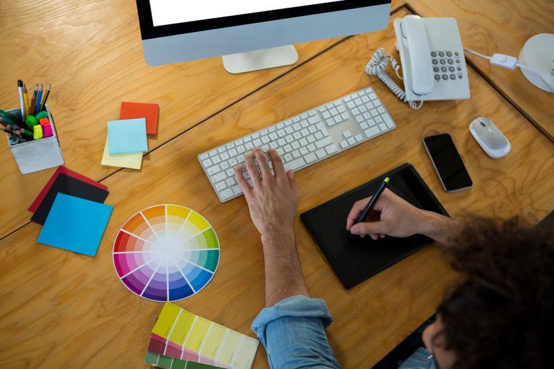 професия Графичен дизайнер